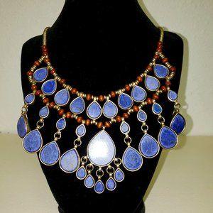 *HOST PICK* Lapis Lazuli Bib Necklace